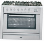 ILVE T-90L-VG Stainless-Steel Kitchen Stove