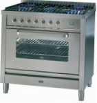 ILVE T-90W-VG Stainless-Steel Kitchen Stove