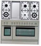 ILVE PSL-120F-VG Stainless-Steel Kitchen Stove