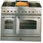 ILVE PD-90FN-MP Stainless-Steel Kitchen Stove