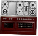 ILVE MT-150FD-MP Red Kitchen Stove