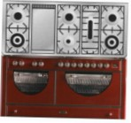 ILVE MCA-150FD-MP Red Kitchen Stove