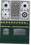 ILVE PDN-90B-MP Green Kitchen Stove