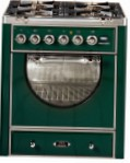 ILVE MCA-70D-MP Green Kitchen Stove