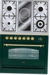 ILVE PN-90V-VG Green Kitchen Stove