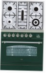 ILVE PN-80-VG Green Kitchen Stove