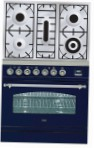 ILVE PN-80-VG Blue Kitchen Stove