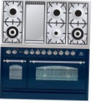 ILVE PN-120F-VG Blue Kitchen Stove