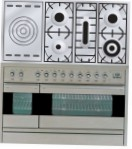 ILVE PF-120S-VG Stainless-Steel Kitchen Stove