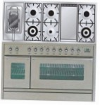 ILVE PSW-120FR-MP Stainless-Steel Kitchen Stove
