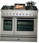 ILVE PD-90FL-VG Stainless-Steel Kitchen Stove