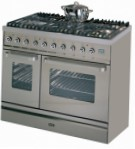 ILVE TD-90CW-VG Stainless-Steel Kitchen Stove