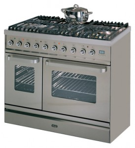 ILVE TD-90FW-VG Stainless-Steel Kitchen Stove Photo