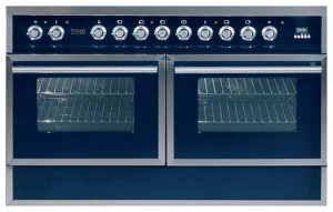 ILVE QDC-120SW-MP Blue Kitchen Stove Photo