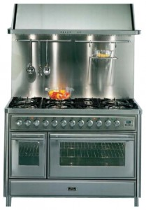 ILVE MT-1207-VG Red Kitchen Stove Photo